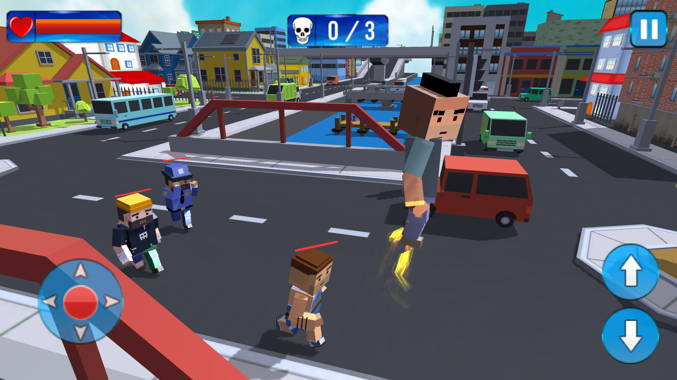 Blocky Gangster Crime War Sim 1