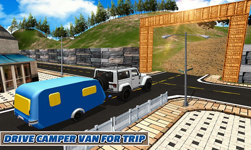 Camper Van Holiday Adventure