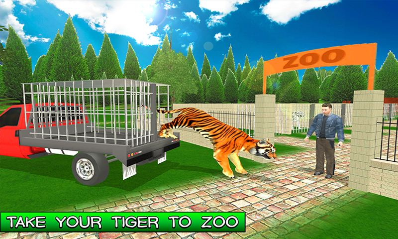 Family Pet Tiger Adventure