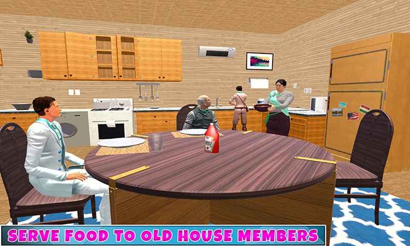 Granny Old House Family Adventure