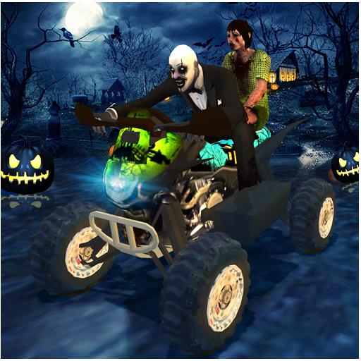 Halloween Party Bike Driver