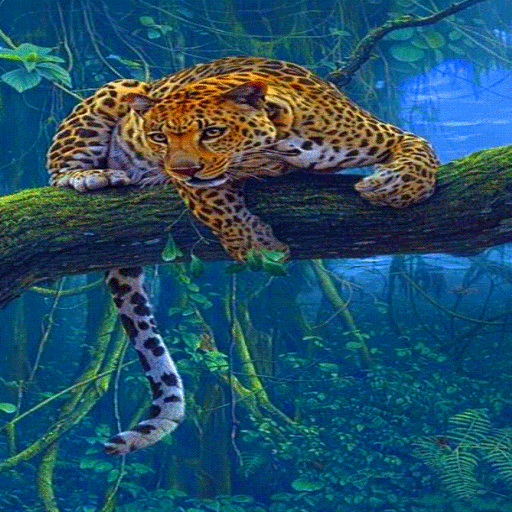 Jungle Leopard Live Wallpaper