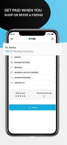 Kiindly: Cashback, Coupons App