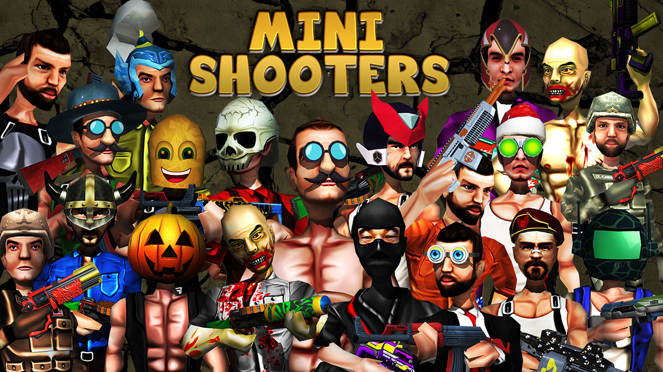 Mini Shooters: Battleground Shooting Game