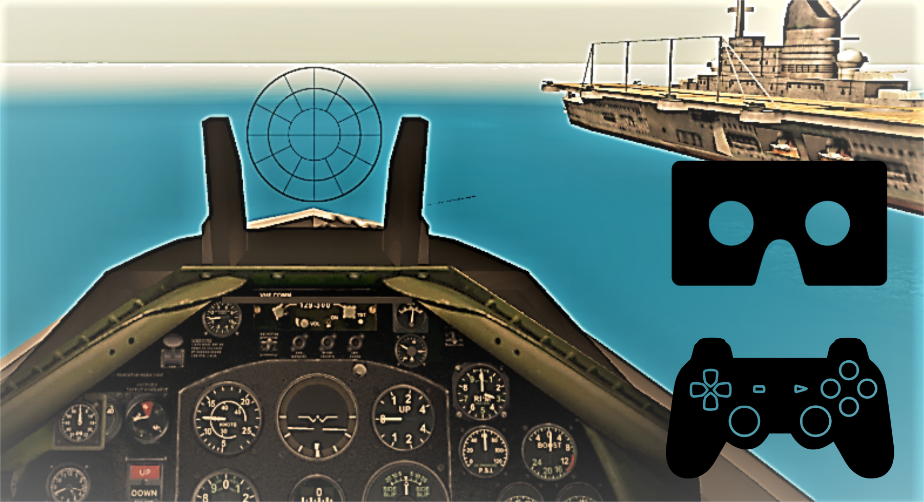 Modern Aircraft Strike VR GamePad