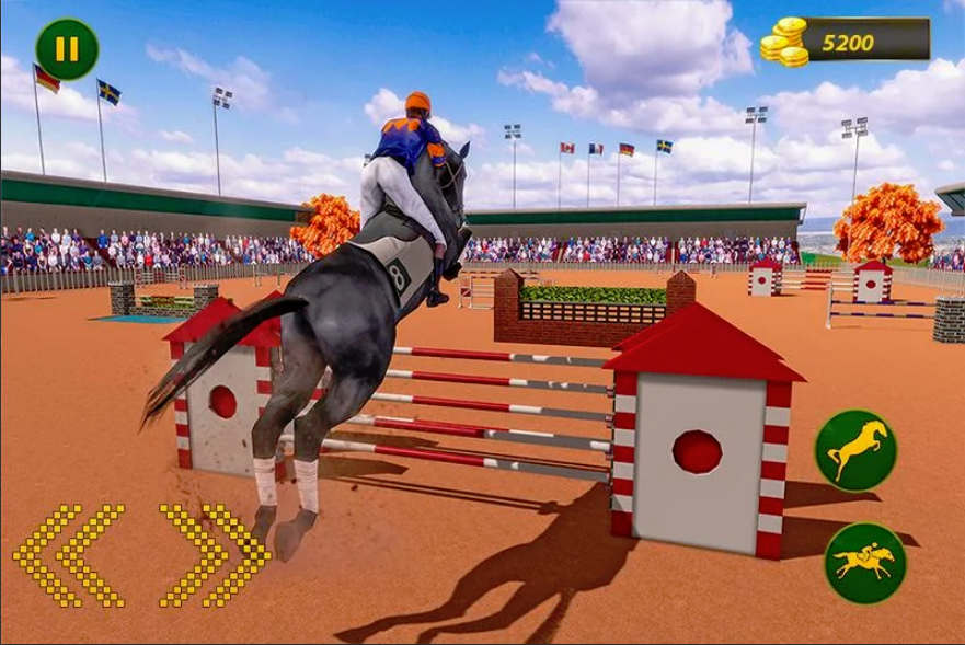 My Horse Show: Race & Jumping Challenge