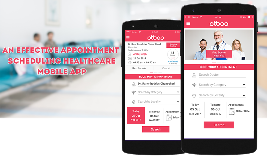OTBOO – DOCTOR'S APPOINTMENT SCHEDULING APP