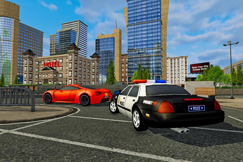 Police Dog Crime Escape 3D