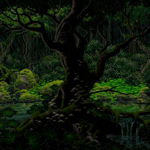 Rainy Forest Live Wallpaper