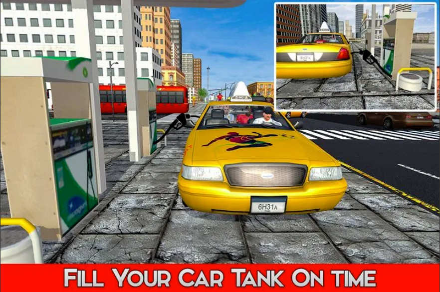 Russian City Taxi Game