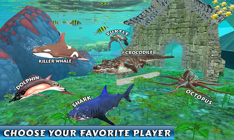 Shark Beasts Water Racing