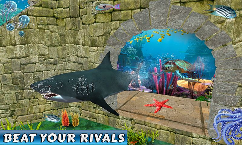 Shark Beasts Water Racing
