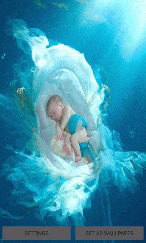 Sleeping Child Live Wallpaper