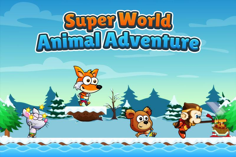 Super World Animal Adventure Journey