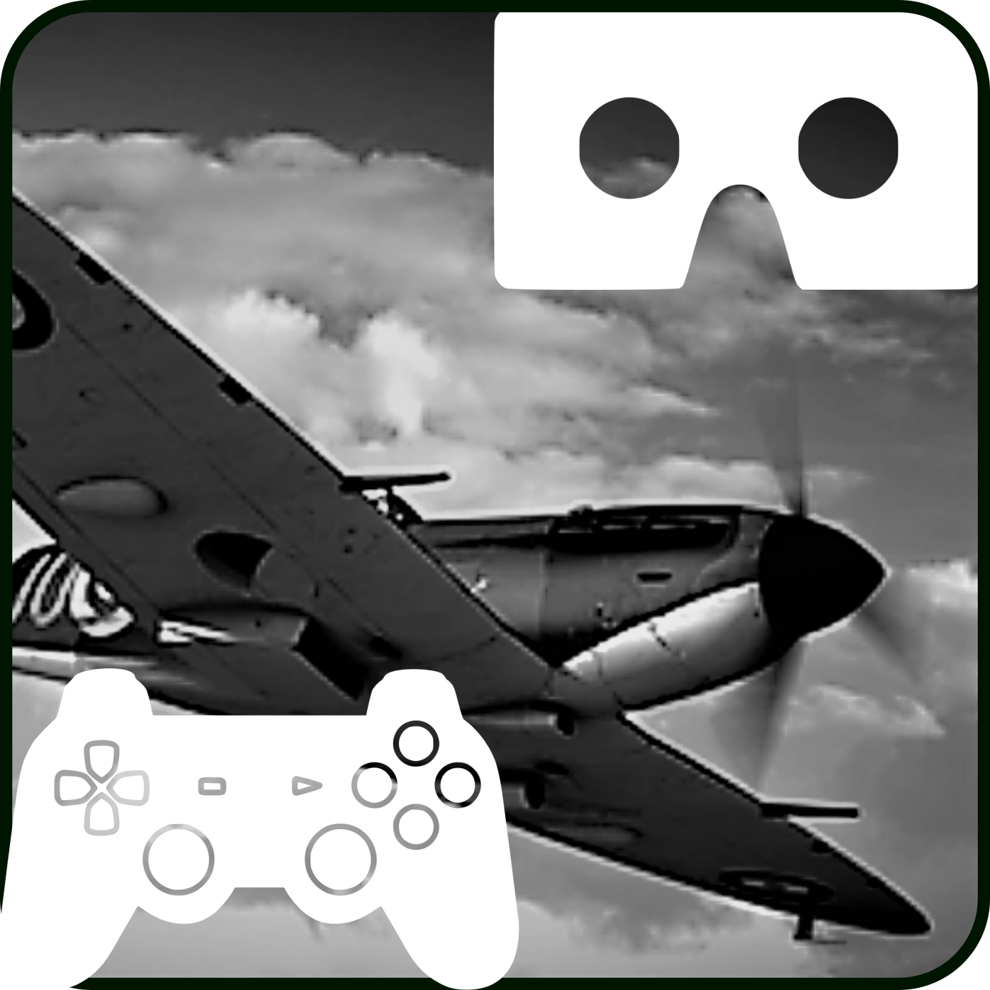 WW2 Aircraft Strike VR GamePad