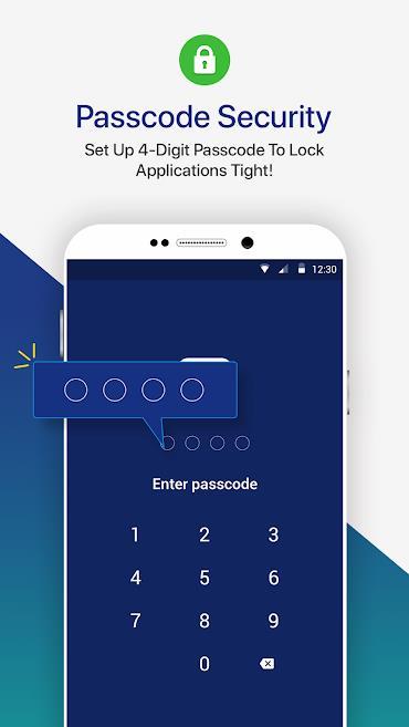 AppLock - Fast App Locker with Pattern & Passcode