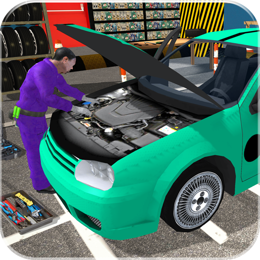 Car Mechanic Workshop: Robot Job