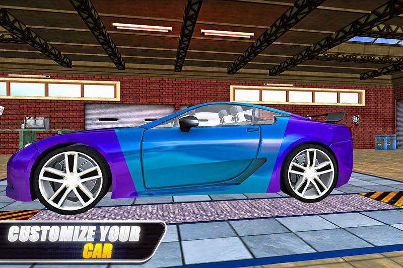 Car Racing Simulator – Drift & Stunts