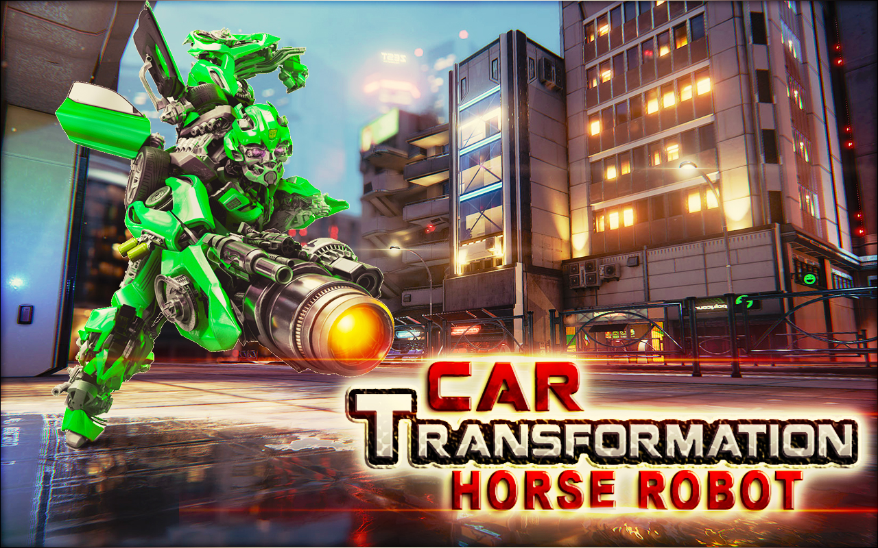 Car Transformation Robot Game