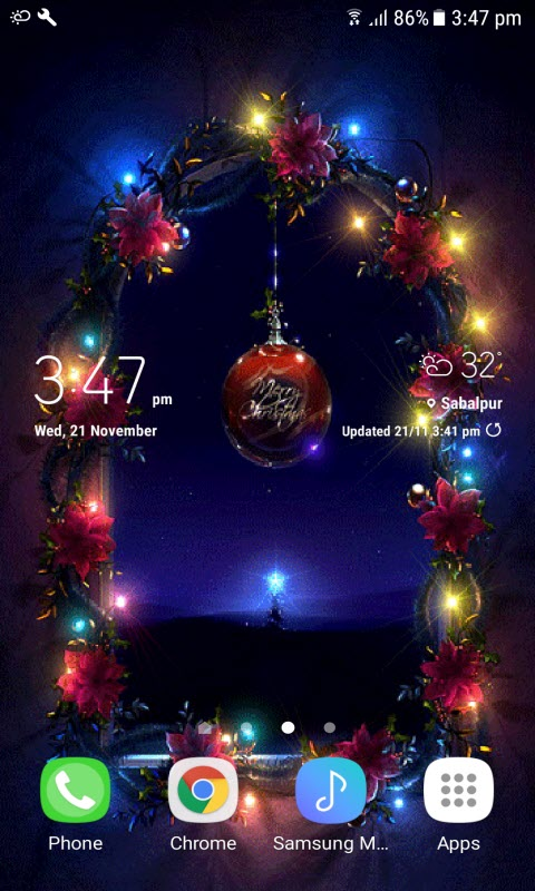 Christmas Eve Live Wallpaper