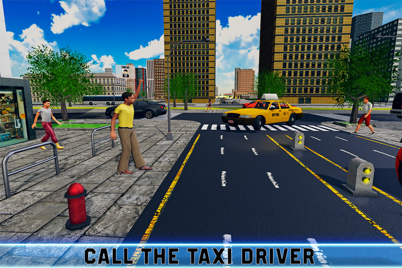 City Traffic Taxi Parking – Driving Rush
