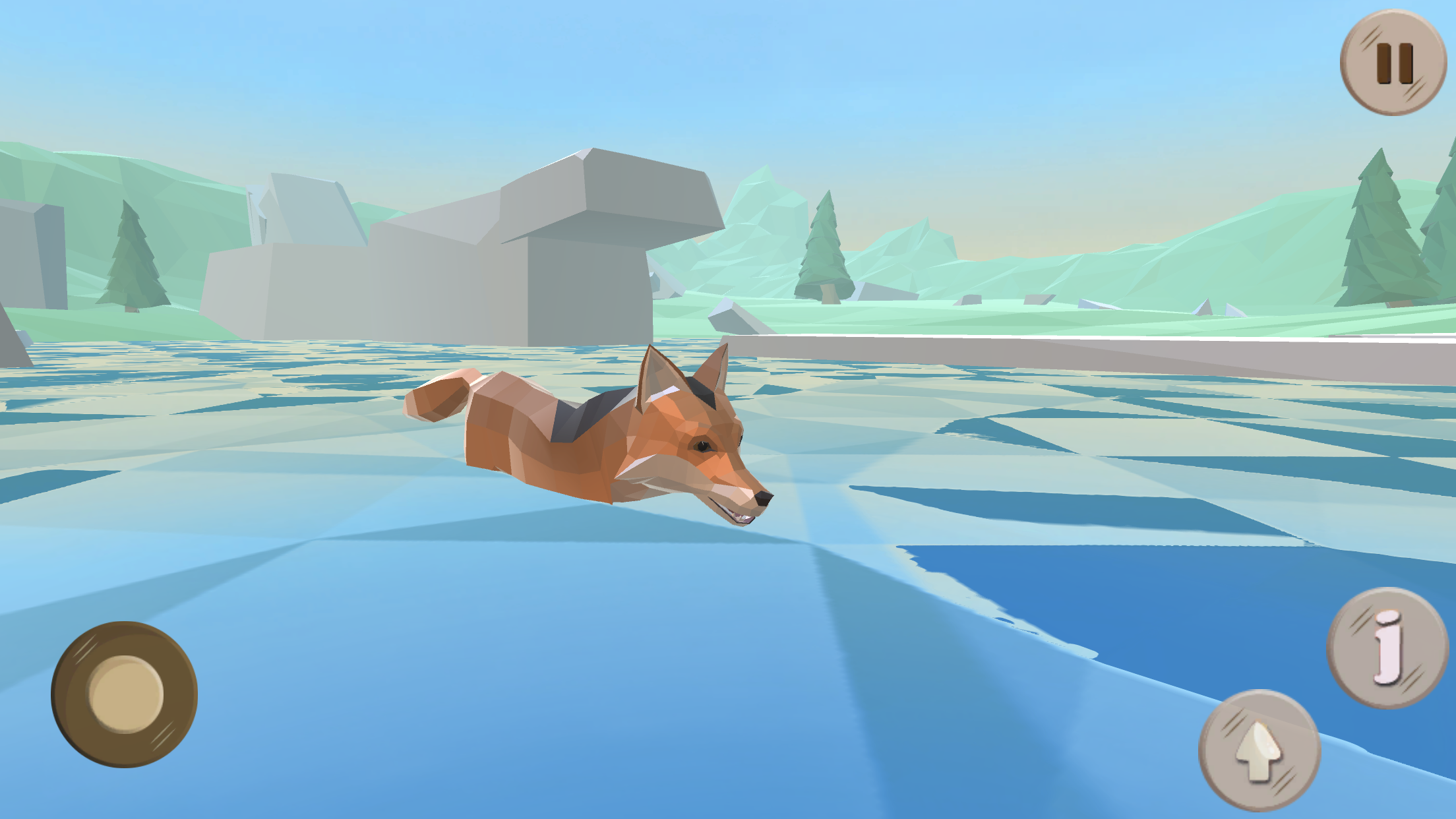 Fox Evolution - Snow 3D Forest