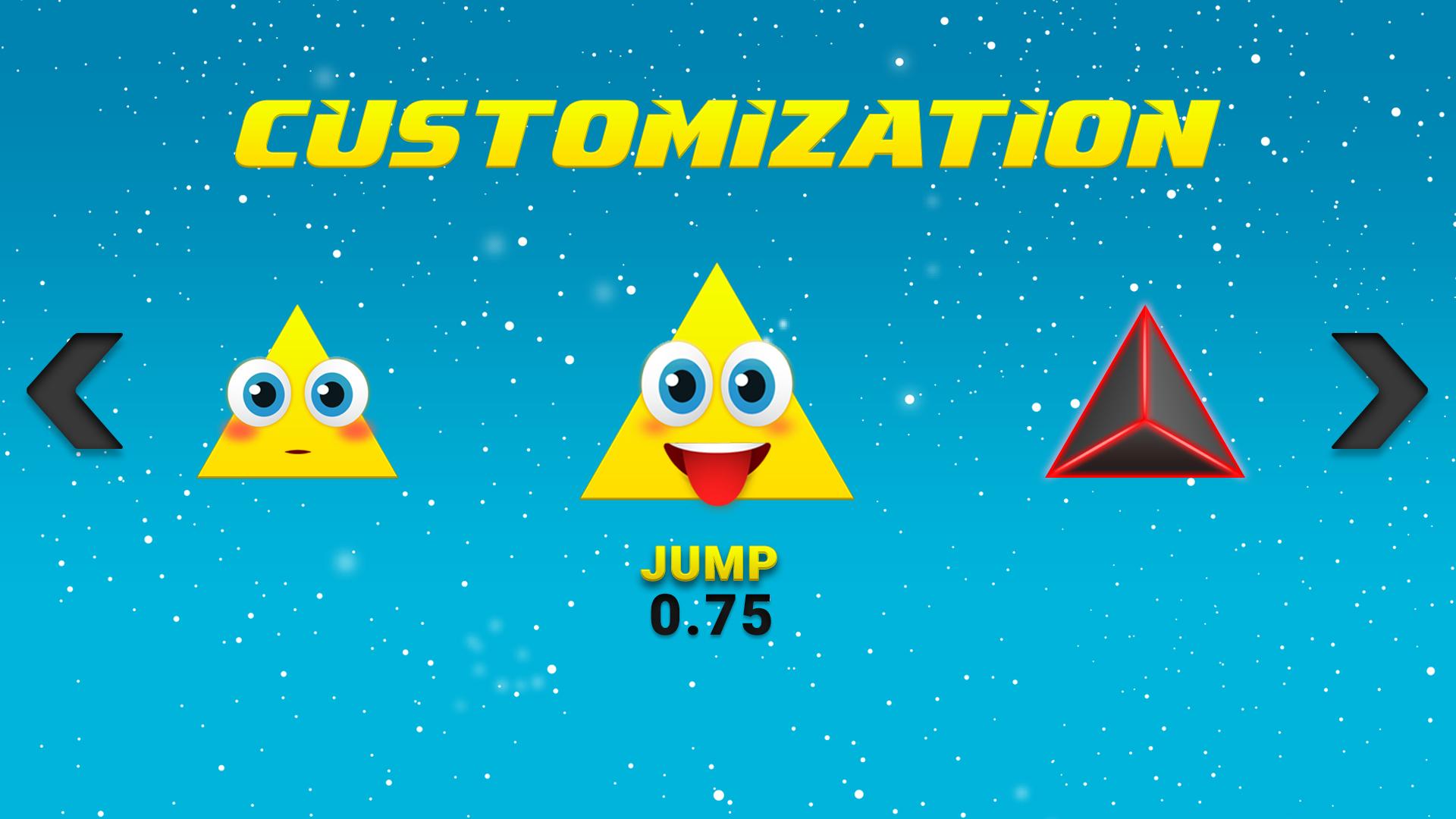 Jumping Triangle Pyramid
