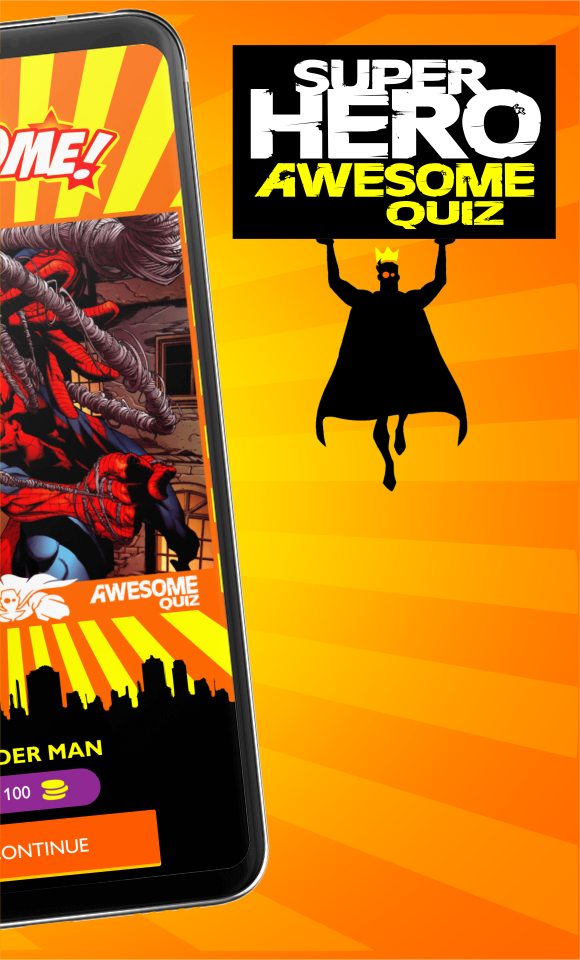 MARVEL Superheroes Awesome Quiz
