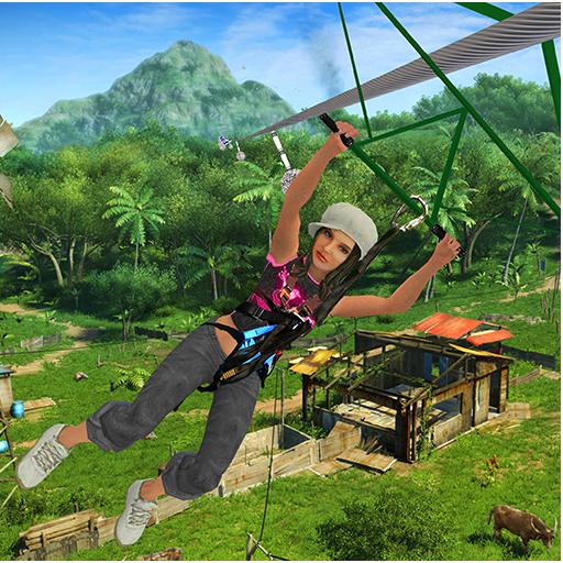 Mega Zipline Sky Adventure