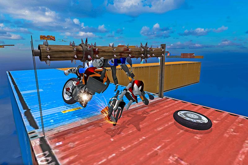 Moto Stunts Rider: Mega Ramp Bike
