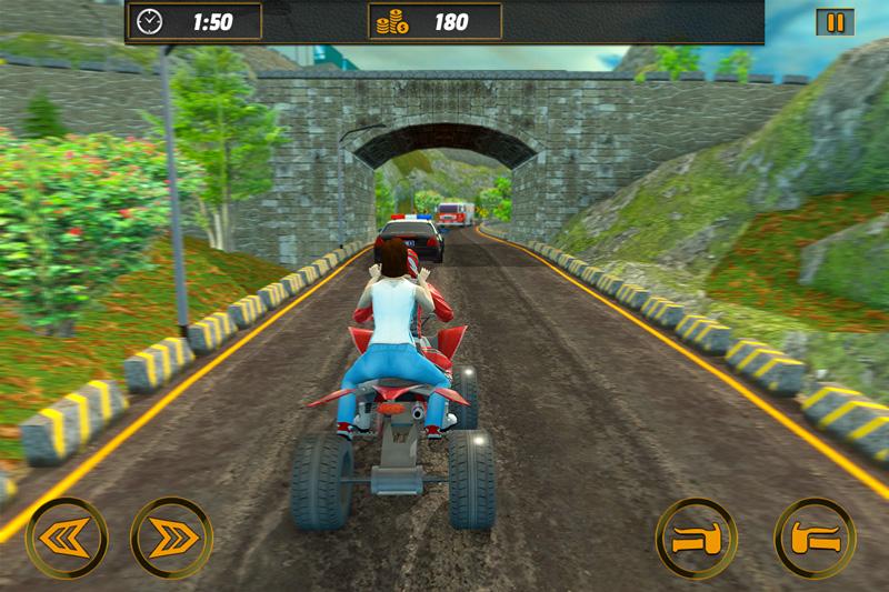 Offroad ATV Bike Taxi Rider