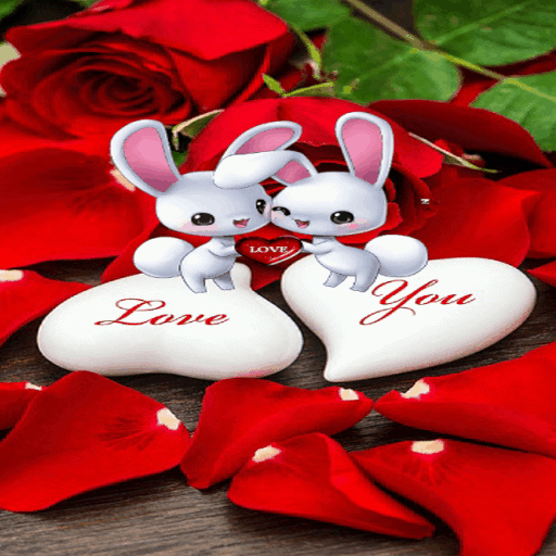 Romantic Rabbit Live Wallpaper