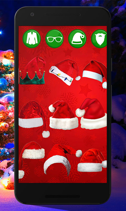 Santa Claus Photo Editor - New photo frame maker