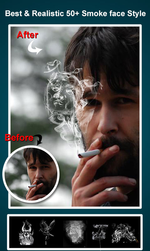 Smoke Photo Editor - Smoke On Photo Effect New