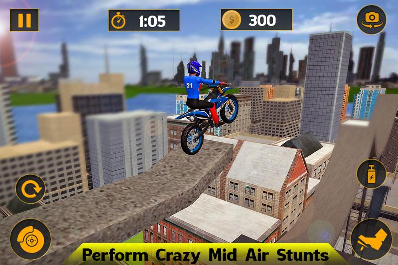 Tricky Bike Stunt Mania 2019