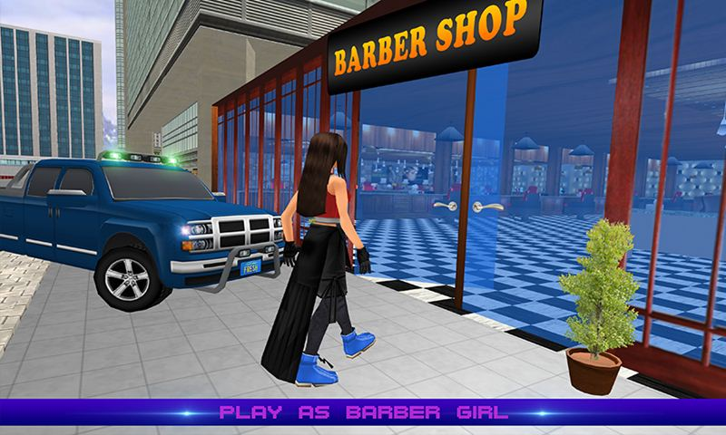 Virtual Barber Girl: Hair Saloon