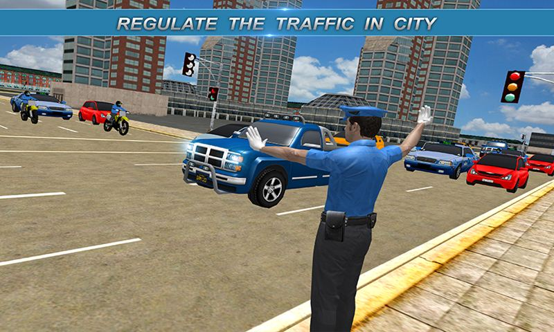 Virtual City Traffic Warden