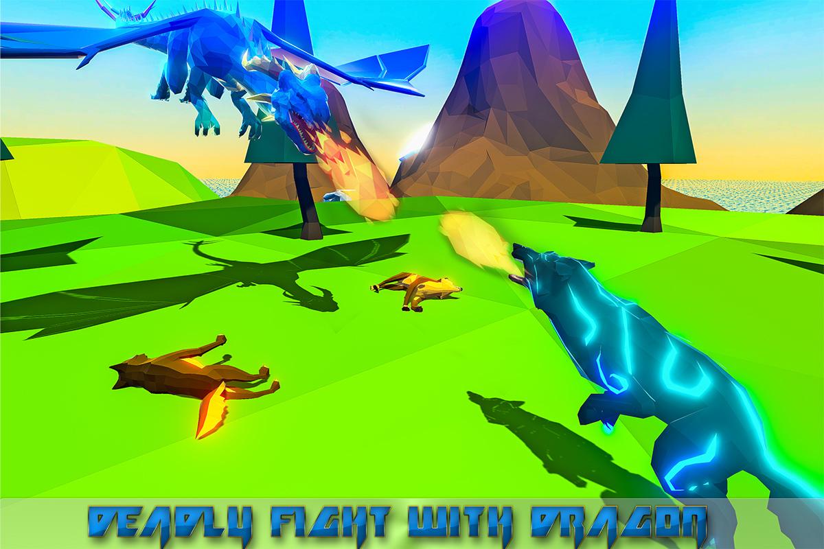 Wild Wolf Family Simulator 3D