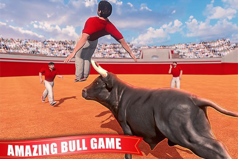 Angry Bull Attack Simulator 2019