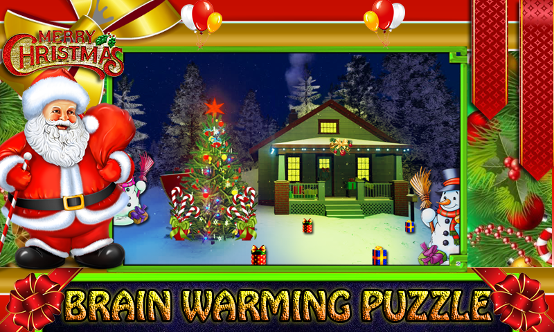 Free New Escape Game 052-New Christmas Room Escape