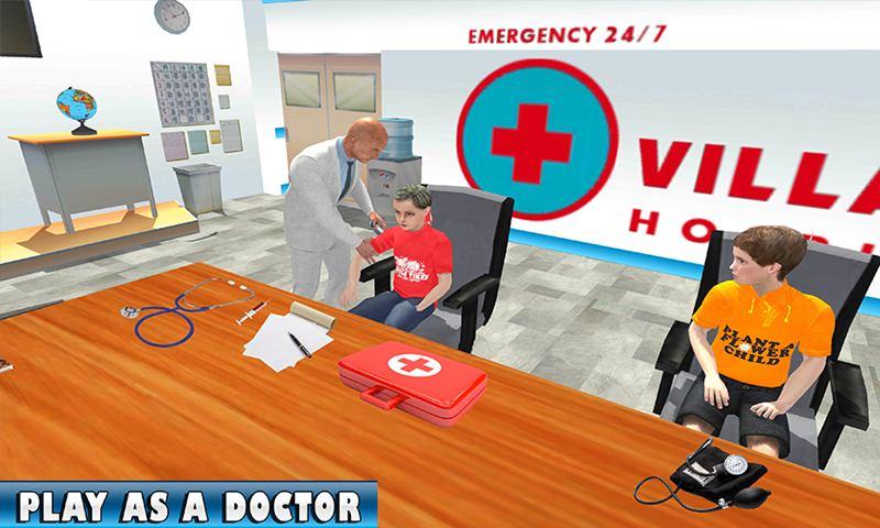 Cart Ambulance Village Hospital