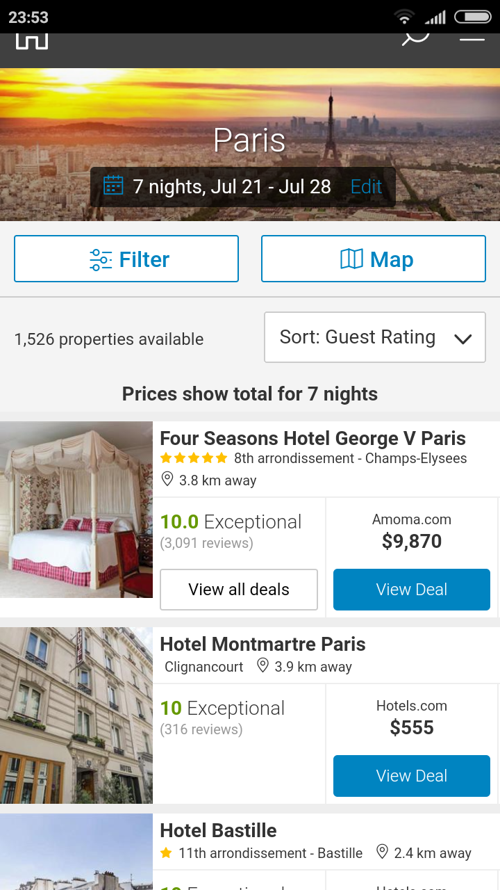 Cheap Hotel Booking - Hotel reservations app