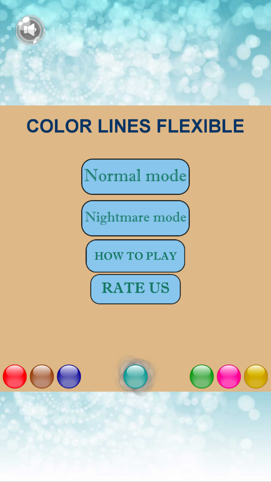 Color Lines Flexible: Bubble Breaker Match 3 Game
