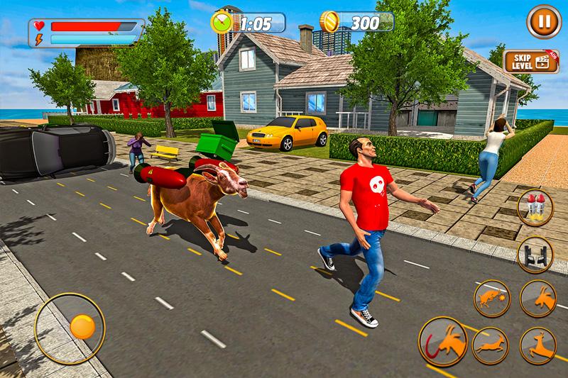 Jetpack Goat City Rampage Simulator 2019