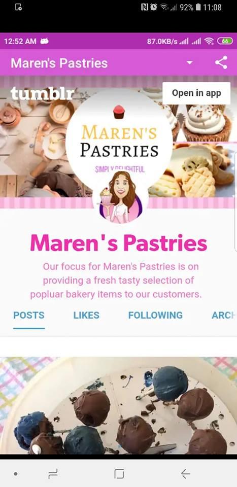 Maren's Pastries