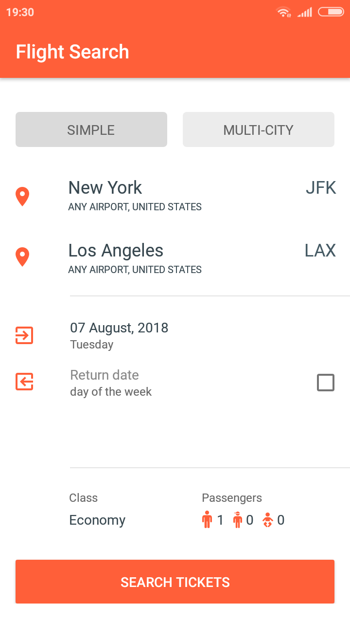 Cheap Flights Finder