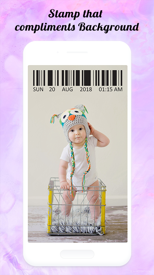 Moment Stamp: Add DateTime Stamp on Camera Photos