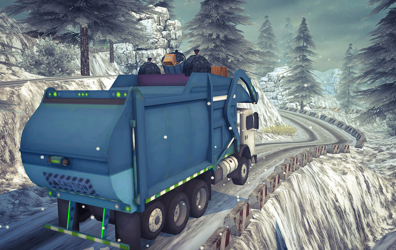 Offroad Cargo Transport Truck Driving Simulator 19