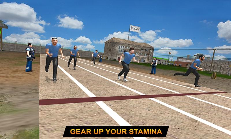 Policeman Training Camp