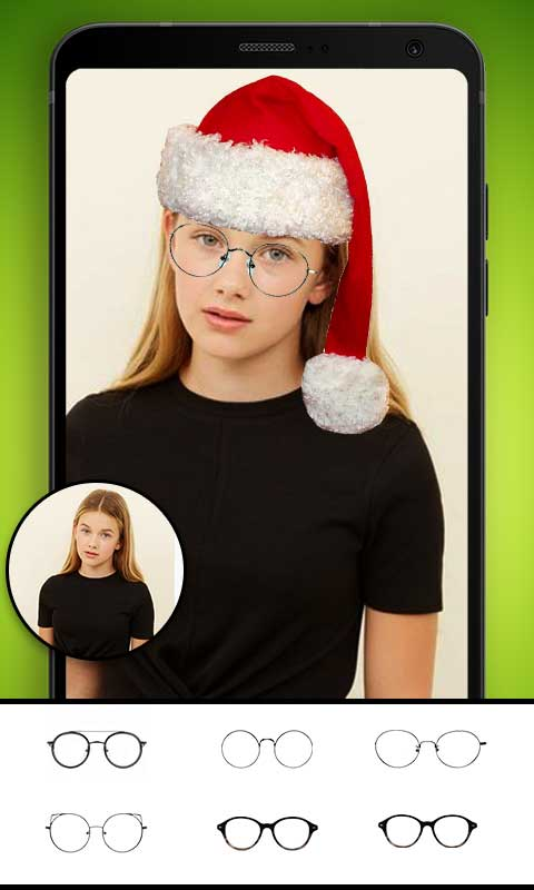 Santa Claus Photo Editor - Christmas photo maker